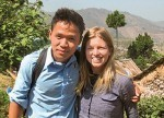 PHI student Hai Gay Htoo with HSPH student Julia Hellman.