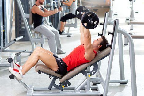 Weight-training-men-release photo