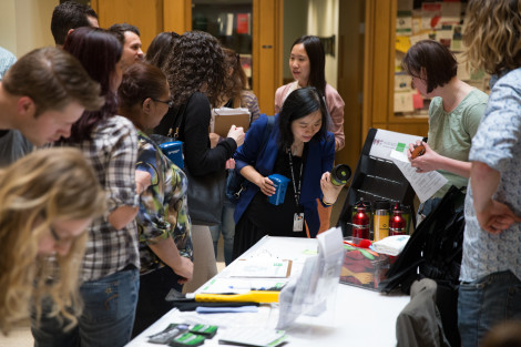 Harvard Chan School hosts Sustainability Fair