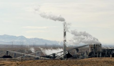 Coal-fired power plant in Nevada.