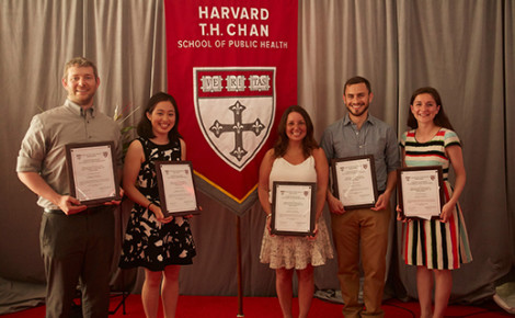 Winners of the Gareth M. Green Award for Excellence in Public Health