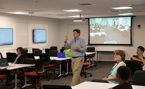 New classroom offers flexible learning environment