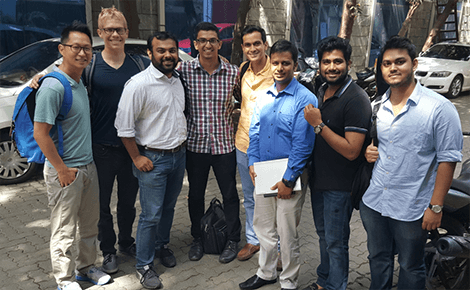 The Jana Swasthya Project team