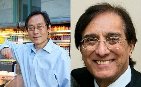 Frank Hu, Sudhir Anand elected to National Academy of Medicine