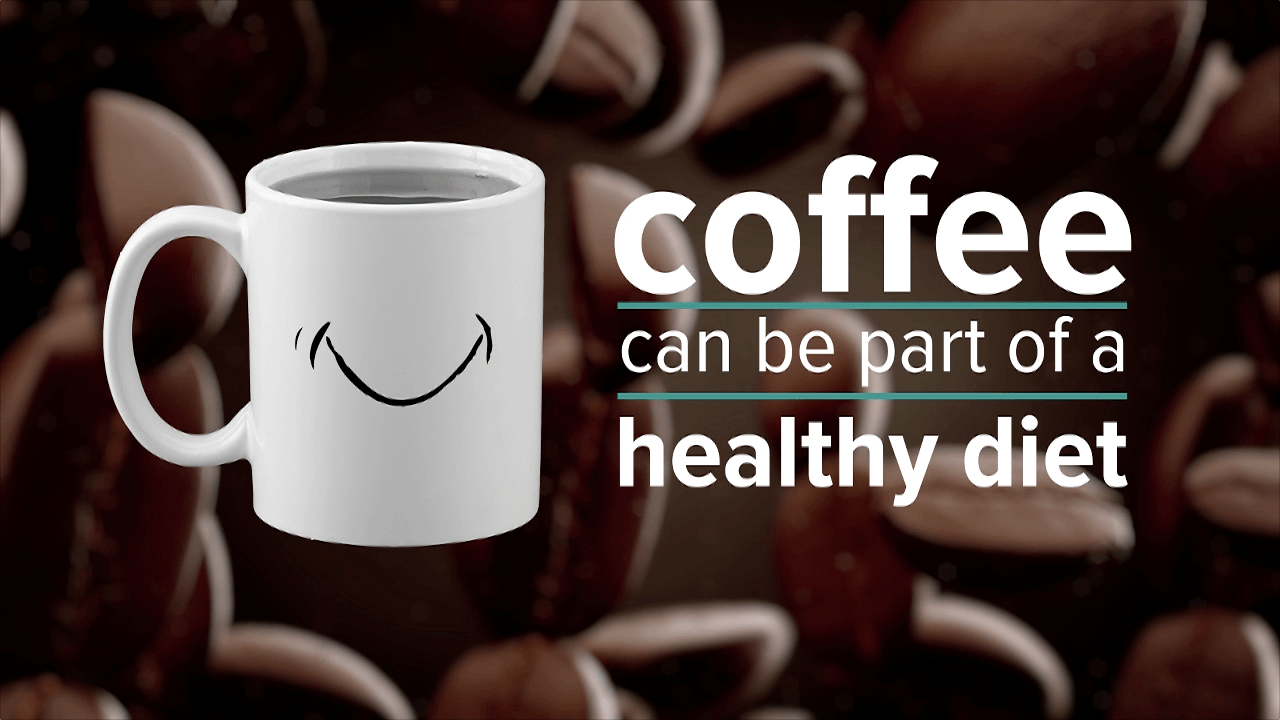 Animation: Coffee's healthy benefits