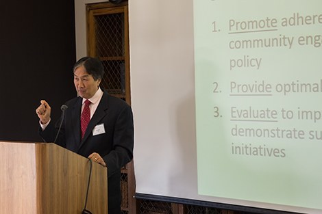 Howard Koh at HUD smoke-free housing meeting