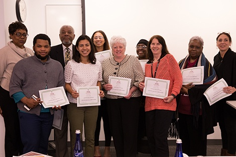 Boston community health workers get public health training in Harvard Chan program