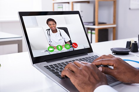 A virtual visit with your doctor