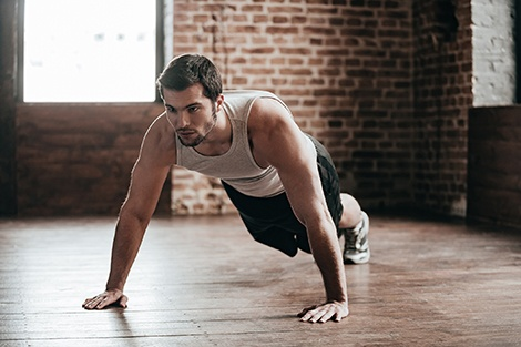 Push-up capacity linked with lower incidence of future cardiovascular disease events among men