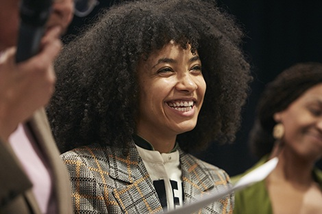 Musician Esperanza Spalding tunes in to the intersection of