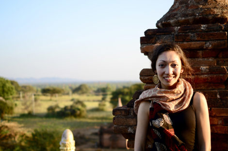 Michelle Korte in Bagan, Myanmar