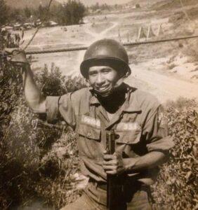 Dad in Army