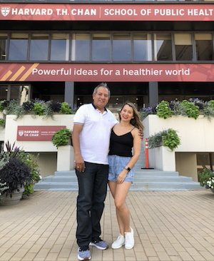 Lazaro and her father