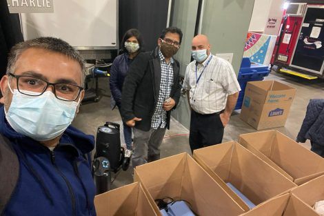 Students lend helping hand to India's COVID-19 efforts