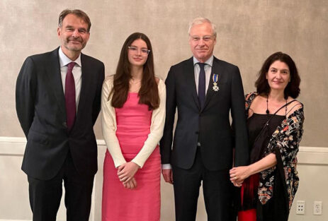 Epidemiologist Albert Hofman knighted by the Netherlands
