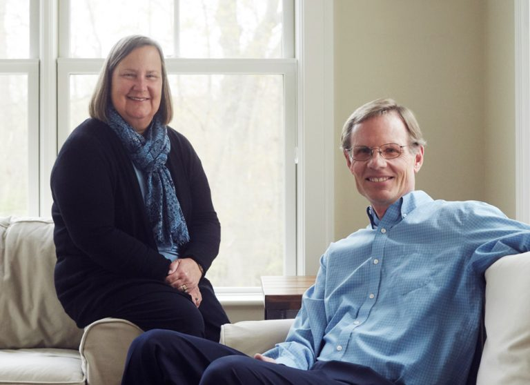 Supporting financial aid: Richard and Christine Siegrist