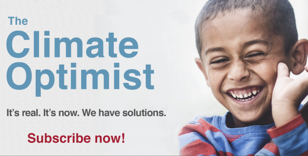 Climate Optimist Masthead
