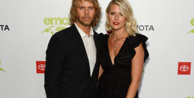 Picture of Eric Christian Olsen and Sarah Wright Olsen