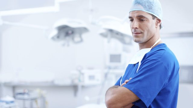 Doctor in operating room