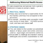 Gender Inequality and Inequity as Barriers to Access Maternal Health Care: A Case of PMTCT Service