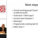 Next Steps for the Maternal Health, HIV, and AIDS Meeting