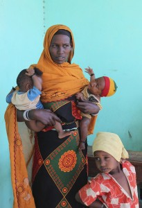 woman baby infant twins africa mental health child development malnutrition ethiopia