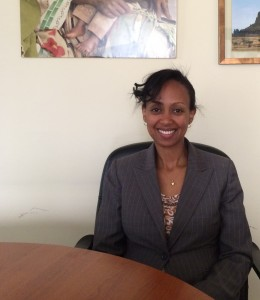Lia Tadesse, former Vice Provost for Academic Programs and Research at St. Paul's Millennium Medical College (Photo: Katie Millar/MHTF)