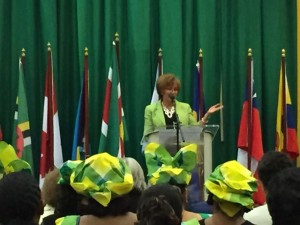 Francis Day-Stirk international confederation of midwives suriname maternal health midwives midwife