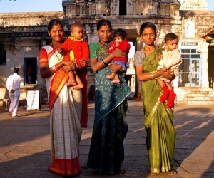 india mental health maternal woman baby sari