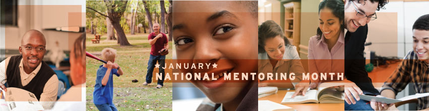 National Mentoring Month Banner