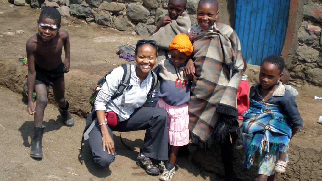 Tapela calls on patients in Lesotho.