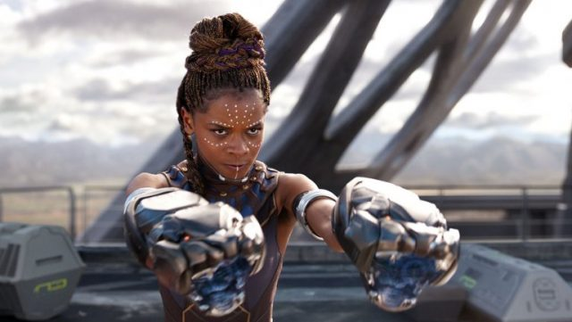 Shuri, the Black Panther's brilliant scientist sister