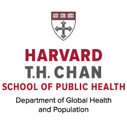 Harvard TH Chan School of Public Health, Department of Global Health and Population Logo
