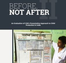 Screenshot of cover of Before Not After II report