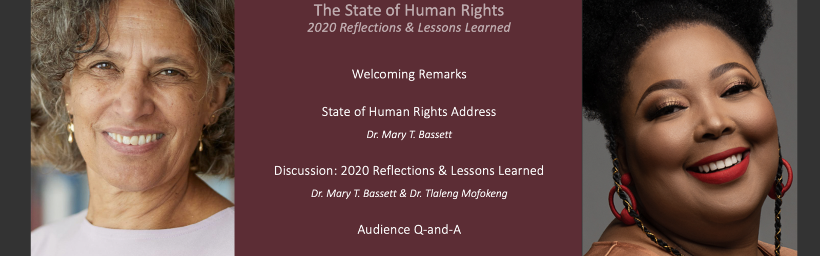 State of Human Rights: 2020 Reflections and Lessons Learned