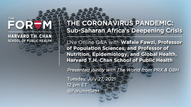 The Coronavirus Pandemic: Presented jointly with The World from PRX & GBH