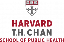 This image shows the logo of the Harvard T.H. Chan School of Public Health.