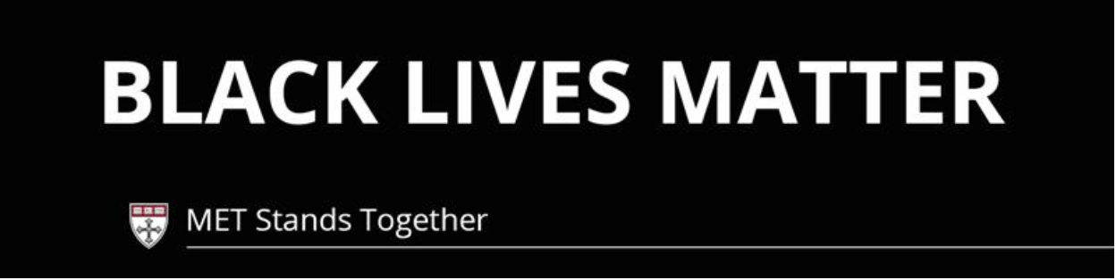 Black Lives Matter - MET Stands Together