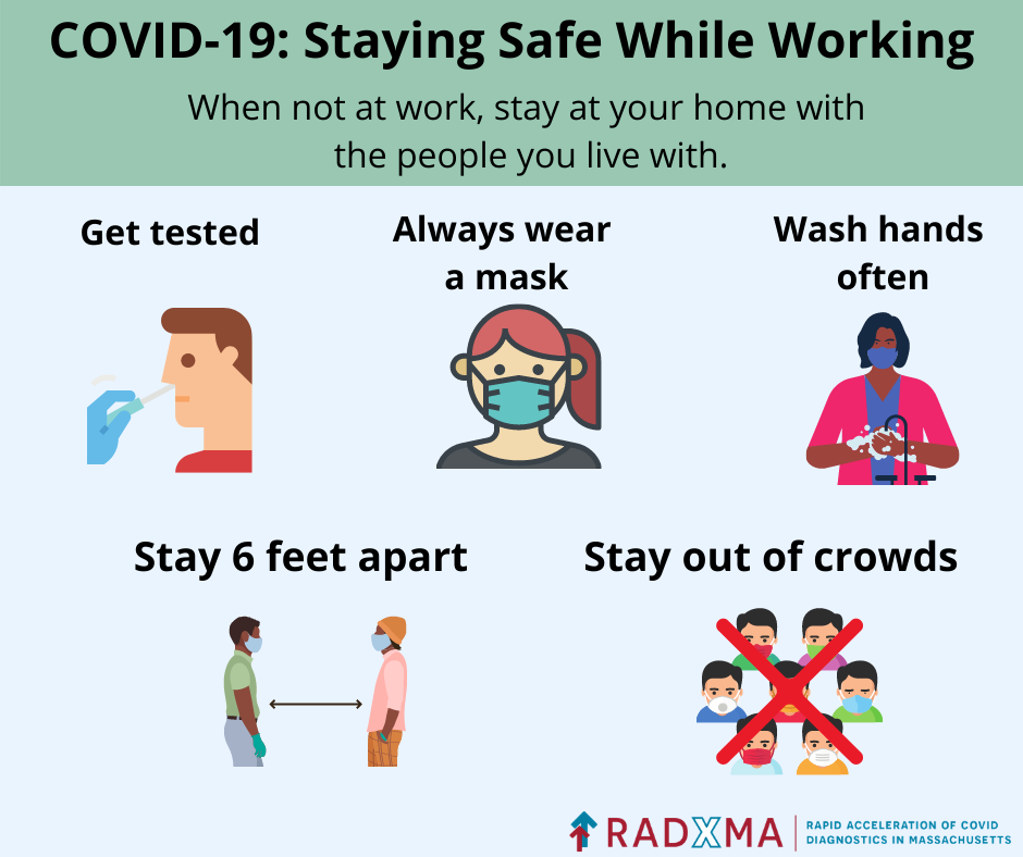 COVID-19: Staying safe while working