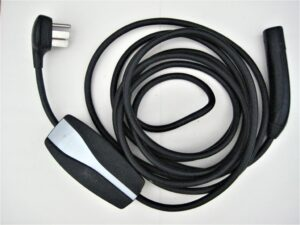 Level 2 electric vehicle charging cord