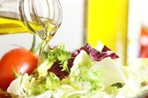dressing with olive oil dressing