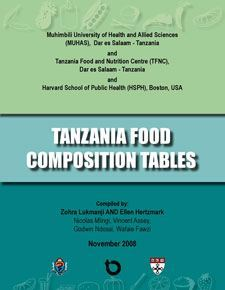 Tanzania Food Composition Tables