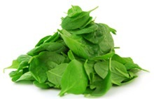 Pile of spinach