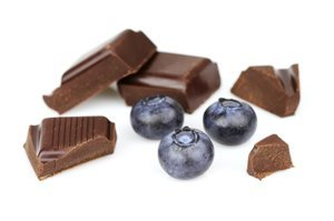 Chocolate with berry