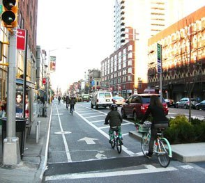 Cycle Track, New York City