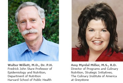 Dr. Walter Willett of HSPH and Amy Myrdal Miller, M.S., R.D. of The Culinary Institute of America (willett-and-myrdal-miller.jpg)