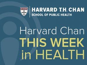 Harvard Chan This Week in Health Icon