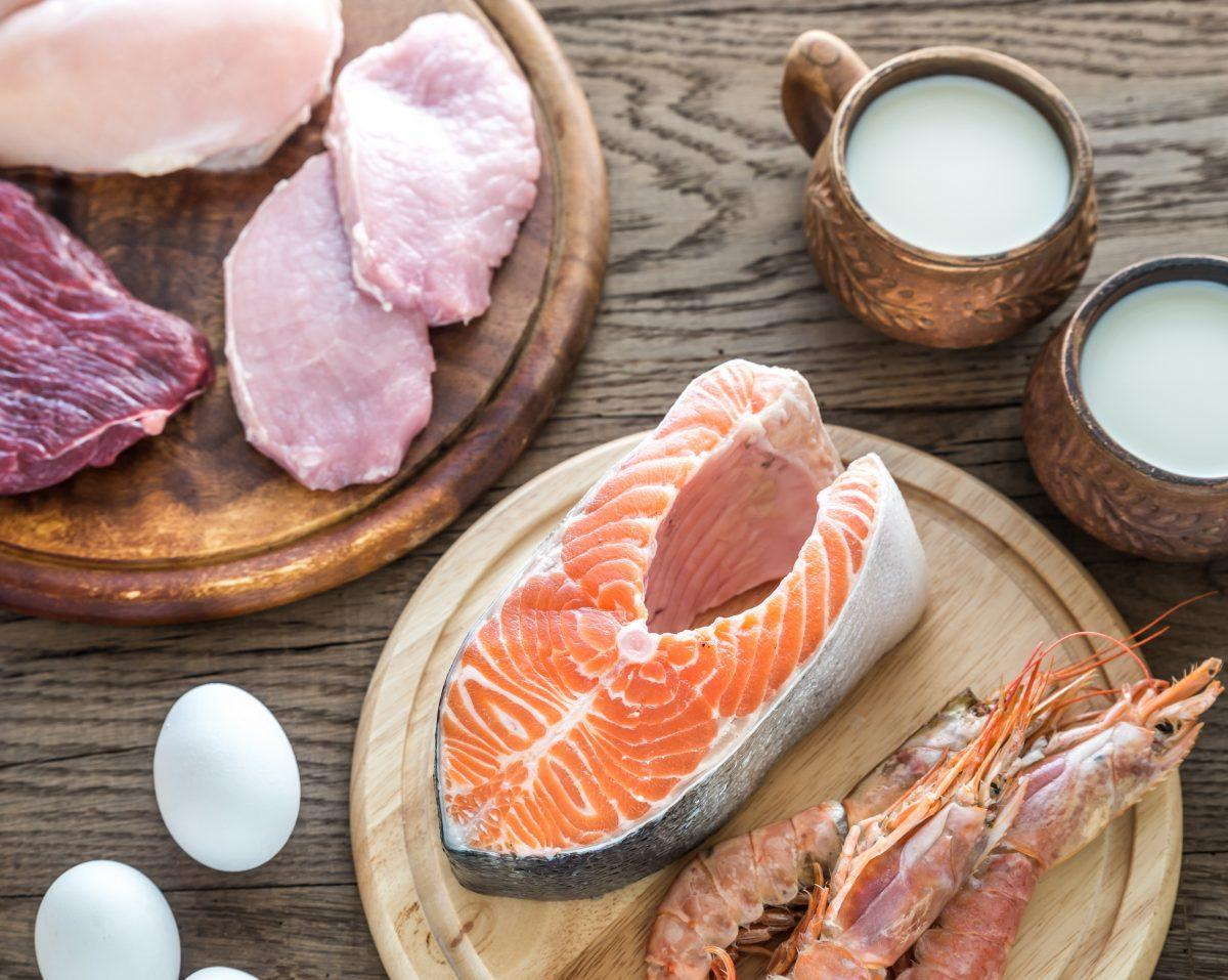 Foods naturally containing vitamin b12, including fish, shellfish, liver, meat, eggs, poultry, and dairy products such as milk, cheese, and yogurt.