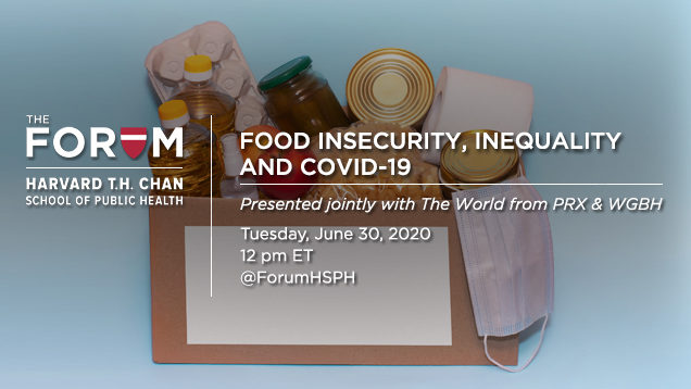 Food Insecurity, Inequality and COVID-19
