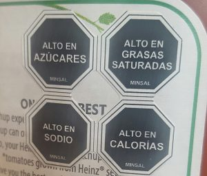 Chile's food package label